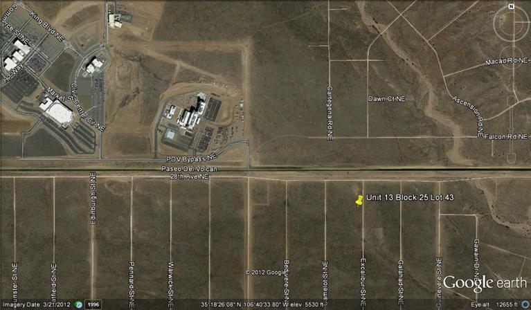 0 Excalibur St(u13, B 25, L43) Ne, Rio Rancho NM 87144 - Photo 1