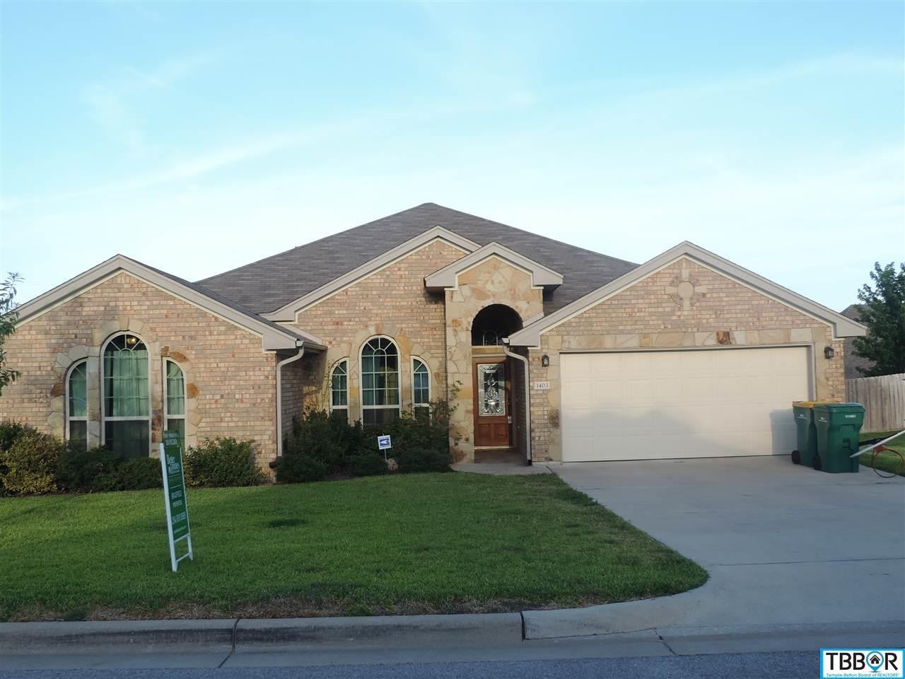 1403 Loving Trail, Belton TX 76513