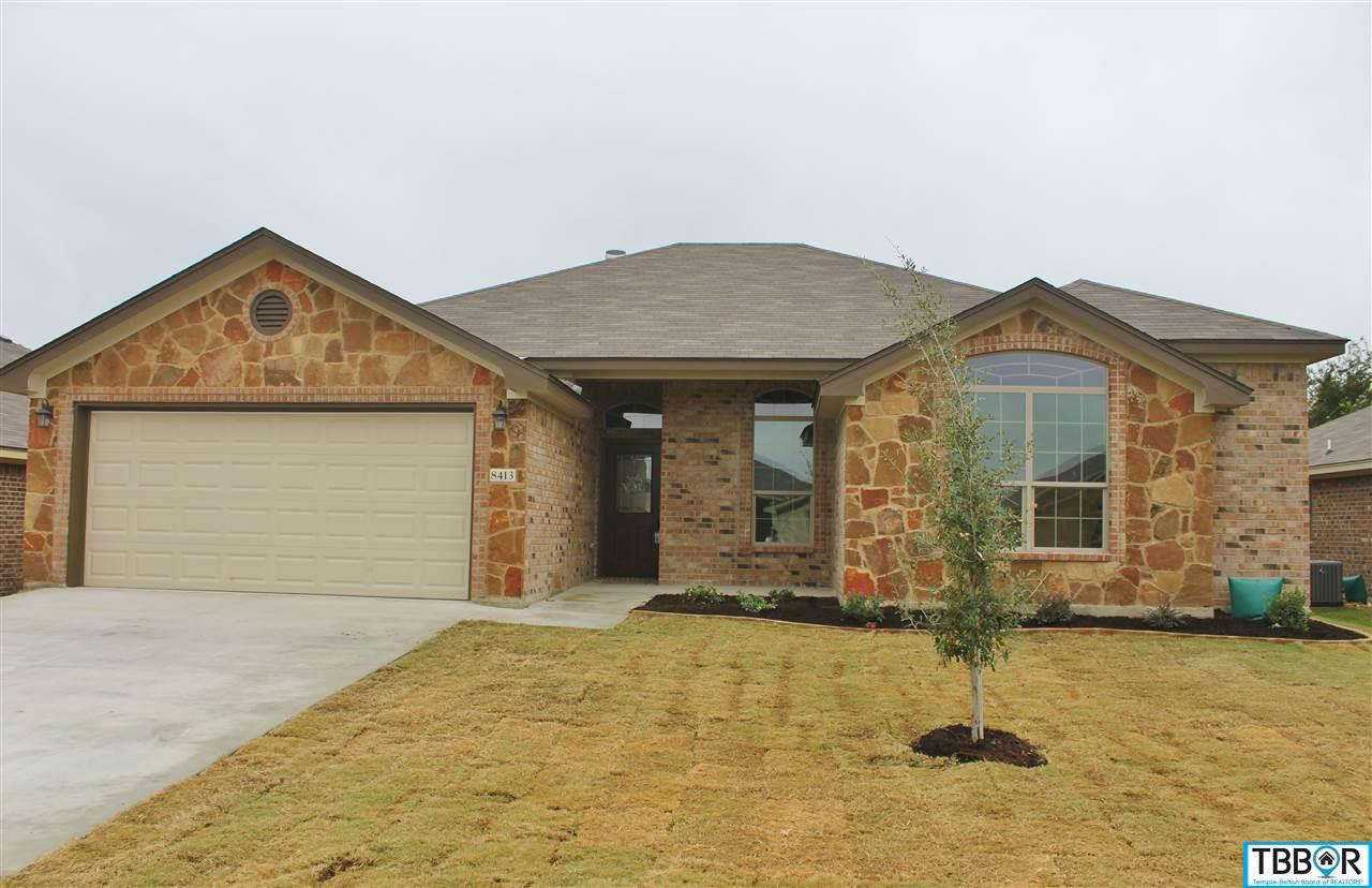 8413 Salt Mill Hollow Drive, Temple TX 76502 - Photo 1
