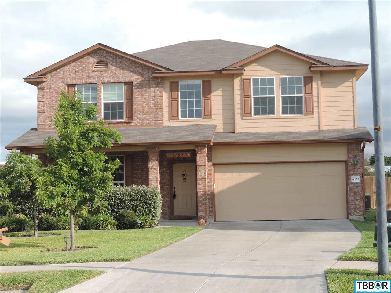 4808 Williamette Lane, Killeen TX 76549