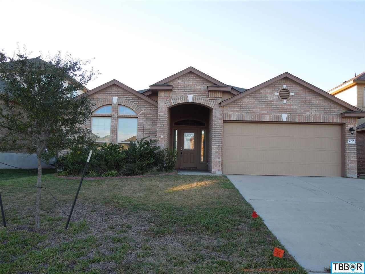 5852 Stanford Dr., Temple TX 76502