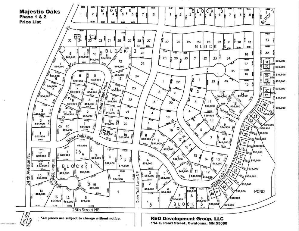 1950 White Oak Lane Ne, Owatonna MN 55060 - Photo 1