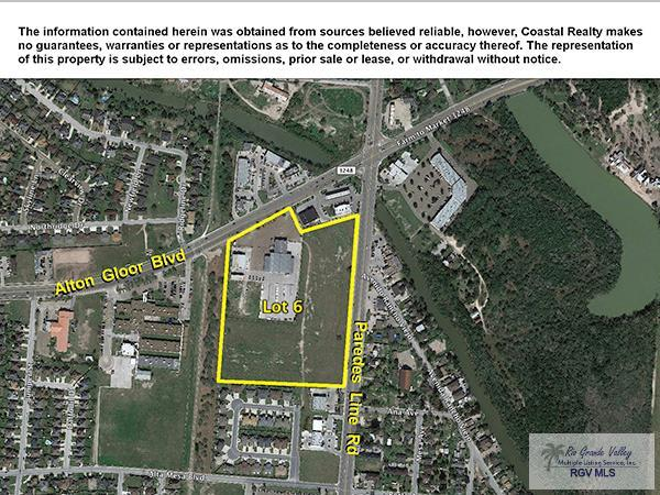 0 Paredes Line Rd. # Lot 6, Brownsville TX 78523 - Photo 1