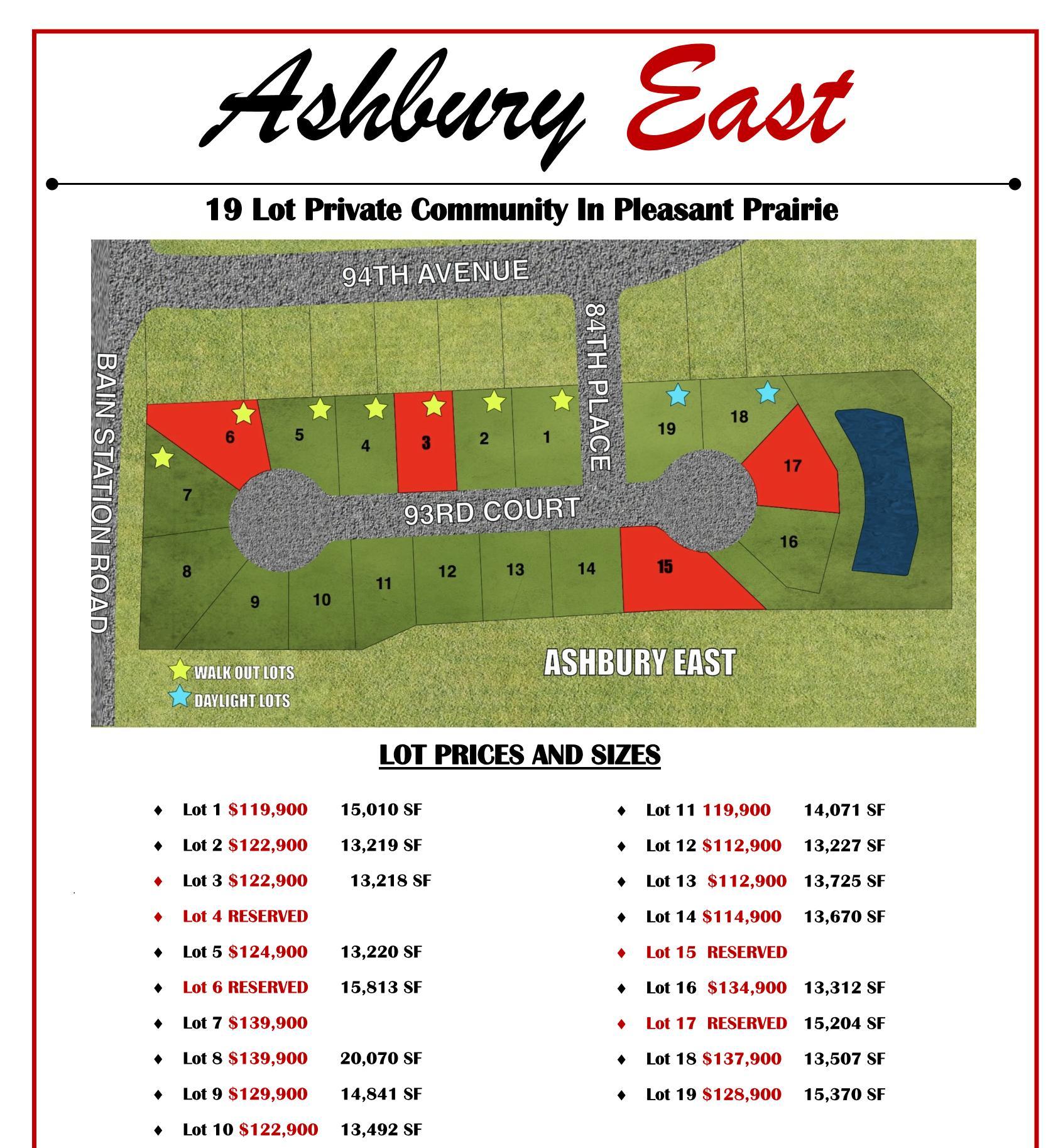 Lt3 Ashbury East, Pleasant Prairie WI 53158