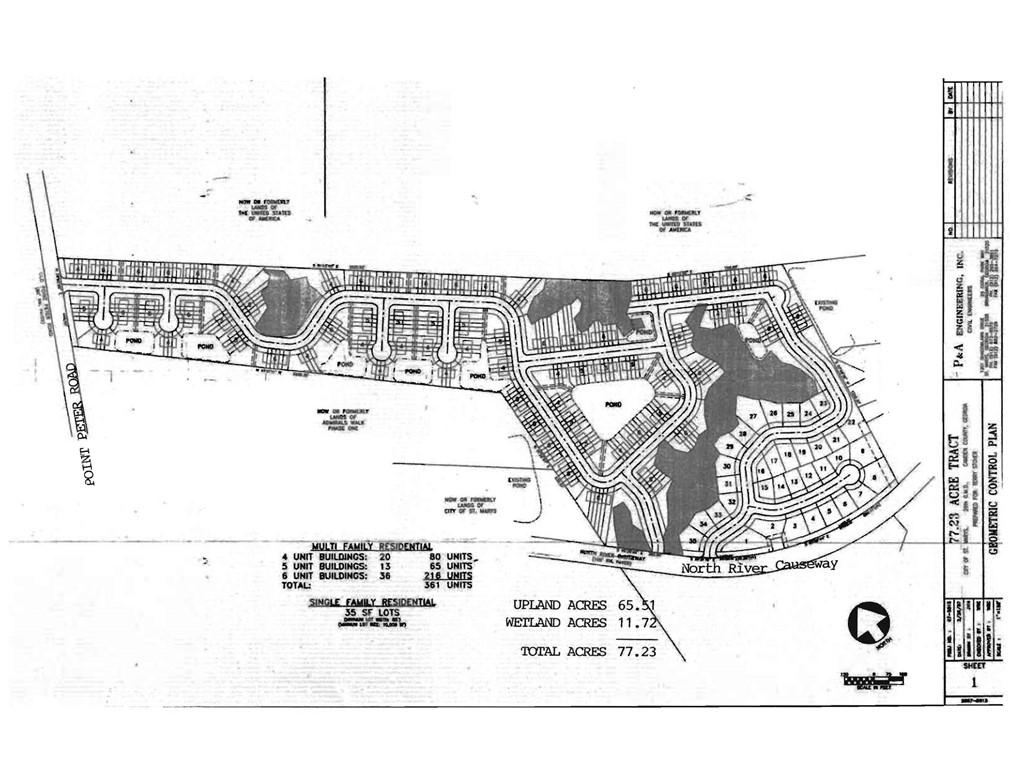1878 Point Peter (77 Ac Res Tract) Road, St Marys GA 31558 - Photo 1