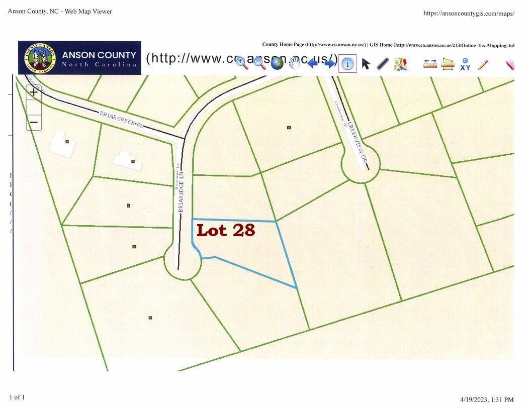 Lot 28 Briaridge Lane # -28, Wadesboro NC 28170 - Photo 1